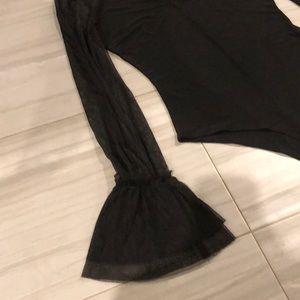 Forever 21 Other - Black thong bodysuit